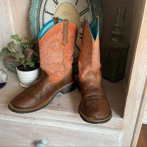 Ariat Western Cowboy Boots Women's 8